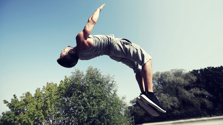 How to Backflip on a Trampoline: 10 Steps (with Pictures)
